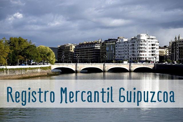registro mercantil de Guipuzcoa, borme guipuzcoa